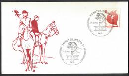 EW121    Germany 1972 - Special Postmark, Sonderstempel: Münster 1.Weltmeisterschaft Der Viererzugfahrer - Hípica