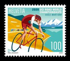 Switzerland 2020 Mih. 2665 UCI Cycling Road World Championships In Aigle And Martigny MNH ** - Unused Stamps