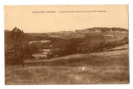 42907-ZE-58-CHATEAU CHUNON-Vue Générale Prise Du Village Des Gaurys - Chateau Chinon