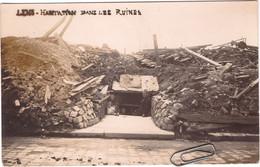 CPA Rare De LENS - Habitation Dans Les Ruines - Grande Guerre - Carte Photo Neuve - Lens