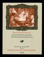 Carnet Croix Rouge YV 2011 De 1962 , N** Fraicheur Postale - Croce Rossa