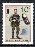 NOUVELLE ZELANDE. N°2003 De 2003. Casque Bleu Au Timor. - Militaria