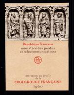 Carnet Croix Rouge YV 2009 De 1960 , N** Fraicheur Postale - Red Cross