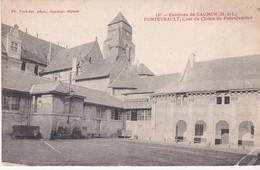 Environs De Saumur Fontevrault Cour Du Cloitre Du Petit Quartier éditeur Voelcker N°131 - Autres Communes