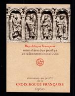 Carnet Croix Rouge YV 2009 De 1960 , N** Fraicheur Postale - Croce Rossa