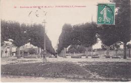 Environs De Saumur Fontevrault Promenade éditeur Voelcker N°58 - Autres Communes