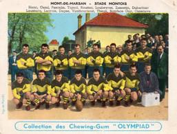 """CARTE """"OLYMPIAD"""" De L'équipe De Rugby De MONT De MARSAN En 1955. - Mont De Marsan"""