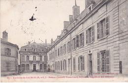 Environs De Saumur Maison Centrale Fontevrault Direction Logement Des Abbesses éditeur Voelcker N°55 - Autres Communes