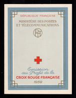 Carnet Croix Rouge YV 2008 De 1959 , N** Fraicheur Postale - Croce Rossa