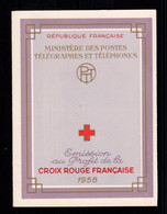 Carnet Croix Rouge YV 2007 De 1958 , N** Fraicheur Postale - Croce Rossa