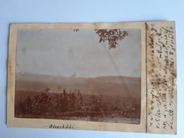 Carte-Photo - Autriche - Giesshübl - Vue Panoramique - Photo Amateur Contrecollée - Voyagée En 1911 - Other