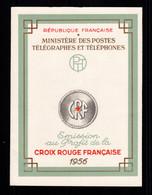 Carnet Croix Rouge YV 2005 De 1956 , N** Fraicheur Postale , Cote 90 Euros - Croce Rossa