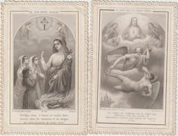 Vieux Papier : Image  Pieuse :  église , Romagny-Bonamy ? , Imp à Poitiers - Images Religieuses