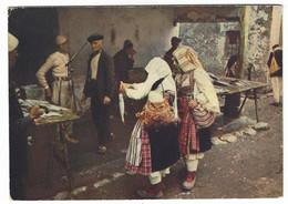 10.079 - ALBANIA SCUTARI MERCATO DEL PESCE - SHKODER PAZARI I PESHKUT 1960 CIRCA - Albania