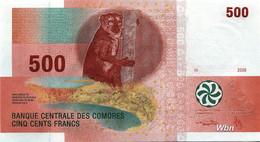 Comores 500 Francs (P15b) 2006 -UNC- - Comoros
