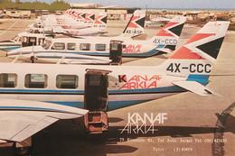 Cartolina - Kanaf Arkia - Airlines & Aviation Services - Israel - 1970 Ca. - Unclassified