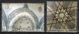 Bosnie En Herzegowina  Mi 309,310 Gebouwen Postfris M.n.h. - Bosnia Herzegovina