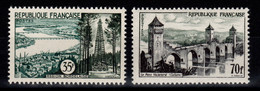 Serie Touristique YV 1118 & 1119 N** Cote 28,50 Euros - Unused Stamps
