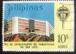 Pilipinas - A1/14 - (°)used - 1973 - Michel 1060 - 60 Jaar Universiteit In Baguio City - Philippines