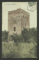 HERAULT / Recette Auxilliaire Rurale SAUSSAN / Carte Postale Concordante 1907 - Manual Postmarks