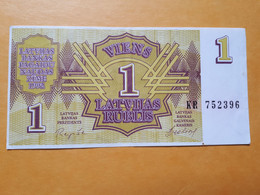 LETTONIE 1 RIBLIS 1992 - Latvia