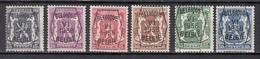 PRE363/368 Zonder Gom - Typo Precancels 1936-51 (Small Seal Of The State)