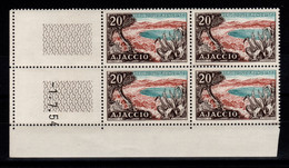 Coin Daté - YV 981 N** Ajaccio Coin Daté Du 1.7.54 - 1950-1959