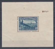 ESPAÑA 1938 Nº 758 NUEVO, MANCHAS VARIAS, DEFENSA DE MADRID - Unused Stamps