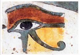 CPM - F - LOUVRE - ANTIQUITES EGYPTIENNES - L'OEIL DU FAUCON HORUS , GAGE D'INTEGRALITE - DETAIL DE LA STELE DE TAPERET - Antiquité