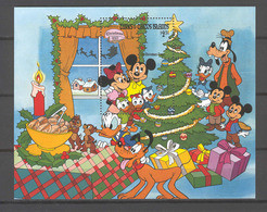 Disney Turks & Caicos 1983 Oh Christmas Tree MS MNH - Disney