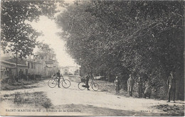 17 - SAINT MARTIN DE RE Avenue De La Citadelle Animée - Saint-Martin-de-Ré
