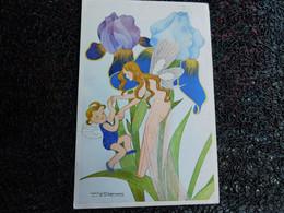 Willy Schermelé, Bloemen Elfjes, Irissen, Elfes De Fleurs, Iris  (B11) - Schermele, Willy