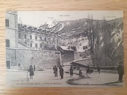 Briancon   Hautes Alpes, Hôpital Militaire Ecrite Par Un Poilu En 1914 - Briancon