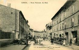 LORIOL =  Route Nationale  Au Midi     2339 - Andere Gemeenten