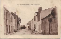 17 - NEUIL SUR MER Rue Mille-Fleurs écrite - Other Municipalities