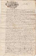 VIEUX PAPIER - GENERALITE DE SAVOIE - 1770  - PETIT BORNAND - CONTRAT DOTAL - Timbri Generalità
