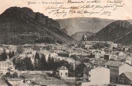 Basses-Alpes - Digne, Vue D'ensemble, La Cathédrale En 1903 - Carte Dos Simple - Digne