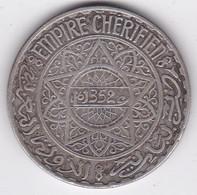 Maroc Protectorat Français. 20 Francs AH 1352  1933, Mohammed V , En Argent - Morocco