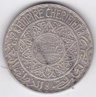 Maroc Protectorat Français. 20 Francs AH 1347  1928, Mohammed V , En Argent - Morocco