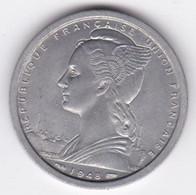 Afrique Equatoriale Française Union Française 2 Francs 1948 , En Aluminium - Other - Africa