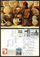 Zambia Man Sculpteur   Nice Stamp   #33034 - Zambia