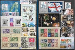 GRAN BRETAGNA **2002/2010, SOGGETTI VARI, 11 Tra SERIE E FOGLIETTI - Unused Stamps