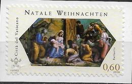 2008 Vatikan  Mi. 1628  **MNH Weihnachten. - Unused Stamps