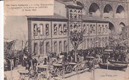 Fête Franco-Espagnole  Inauguration De La Route De CERBER 23 Février 1913 - Cerbere