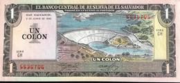 El Salvador 1 Colon, P-133A (3.6.1982/22.6.1982) - UNC - El Salvador