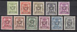 PRE464/474 Zonder Gom - Typo Precancels 1936-51 (Small Seal Of The State)