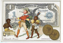 CHRMOS BISCUITS PERNOT MONNAIE AMERIQUE UNITED STATES OF AMERICA - Pernot