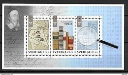 Suède 2018 Bloc Neuf Archives Nationales - Blocks & Sheetlets
