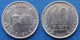 ROMANIA - 10 Lei 1992 KM# 108 Republic (1994-2005) - Edelweiss Coins - Romania