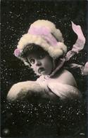 L50D262 - Les Saisons - L'Hiver Symbolisé Par Une Jolie Fillette Avec Un Joli Bonnet Sous La Neige - NPG N°429/4 - Collections, Lots & Series